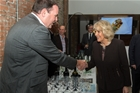 The Duchess of Cornwall toasts to Australia's Best Wine!