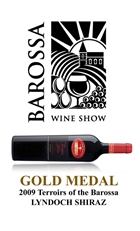 GOLD MEDAL - 2011 Barossa Wine Show