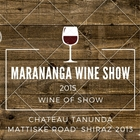 Wine Of Show at Marananga Wine Show